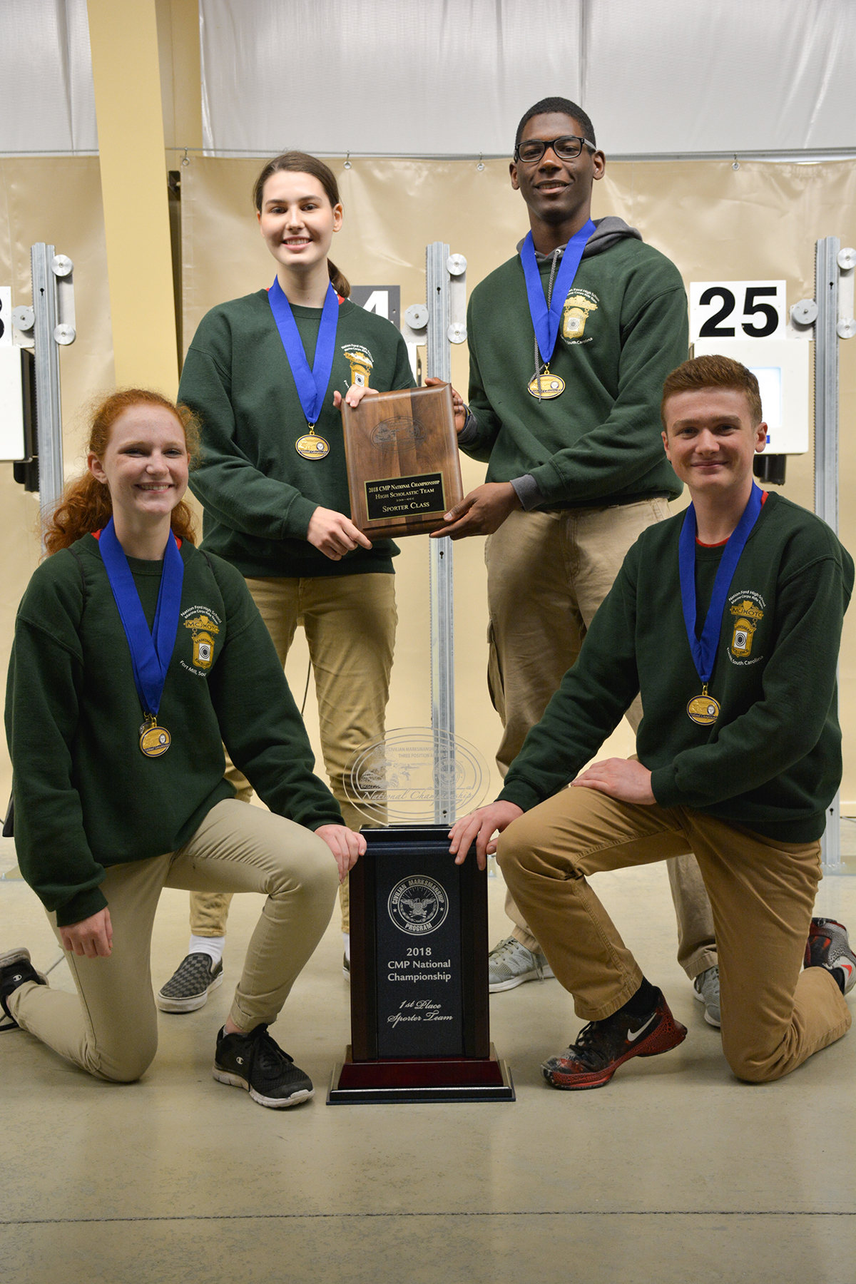 Nation Ford Earns Long Sought Win at 2018 CMP Three Position