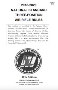 National Standard Three Position Air Rifle Rules