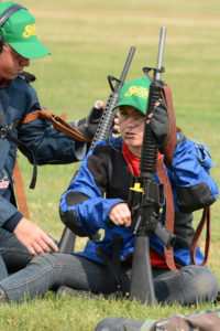 Anne Slota was one of the original members who decided they wanted to make the transition into highpower. At 19, she now serves as a mentor for the younger shooters on the team.