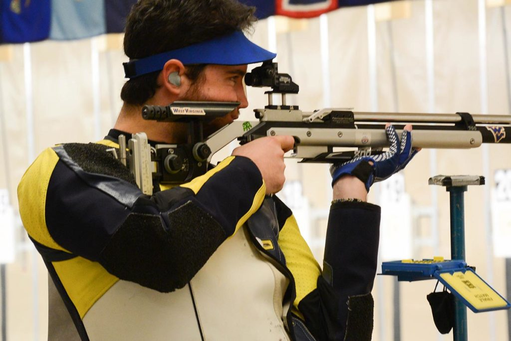 Cover is a former collegiate athlete from the West Virginia University rifle team. While attending the school, he helped the team reach two NCAA Championship titles.