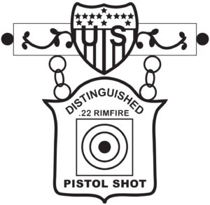 EIC .22 Rimfire Pistol Badge