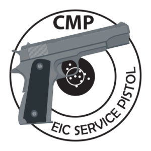 EIC Service Pistol Achievement Pin