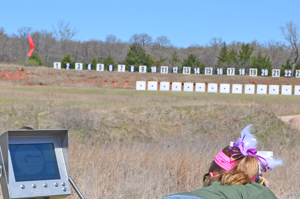 For the second year, the Oklahoma Games will feature CMP's electronic targets that provide accurate shot recognition and quicker relay times.