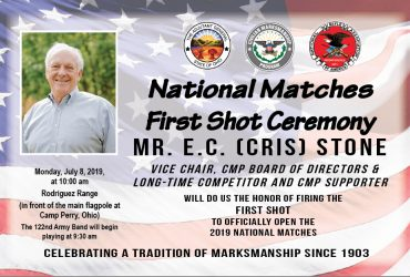 Pyrotechnics, Amputee Skydiver Featured at CMP's 2019 National Matches First Shot Ceremony