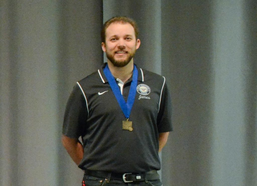 James Hall will be one of three CMP employees representing the USA at the World Cup event in Bangkok, Thailand. Hall will be competing in the Men's Free Pistol Match. He and the others received $500 for their win.