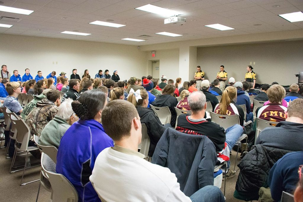 Members of the Army Marksmanship Unit also gave a special junior clinic to a room full of parents, coaches and young competitors that focused on their individual questions to send them all in a positive direction for their marksmanship careers.