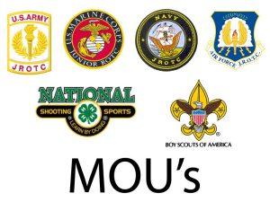 CMP MOU's