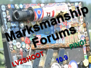 Marksmanship Forums