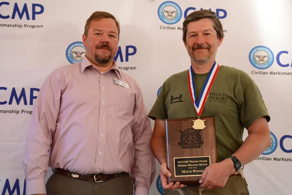 An outstanding competitor, Bill was the Match Winner of the Modern Military Match during the 2014 Western CMP Games with a score of 292-6x.