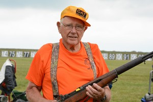 Milton Beckwith, 89, has been coming to Camp Perry since 1954. With the help of members of his home shooting club in Connecticut, he still manages to make the trip to the National Matches every year.