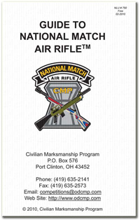 National Match Air Rifle Guide Cover