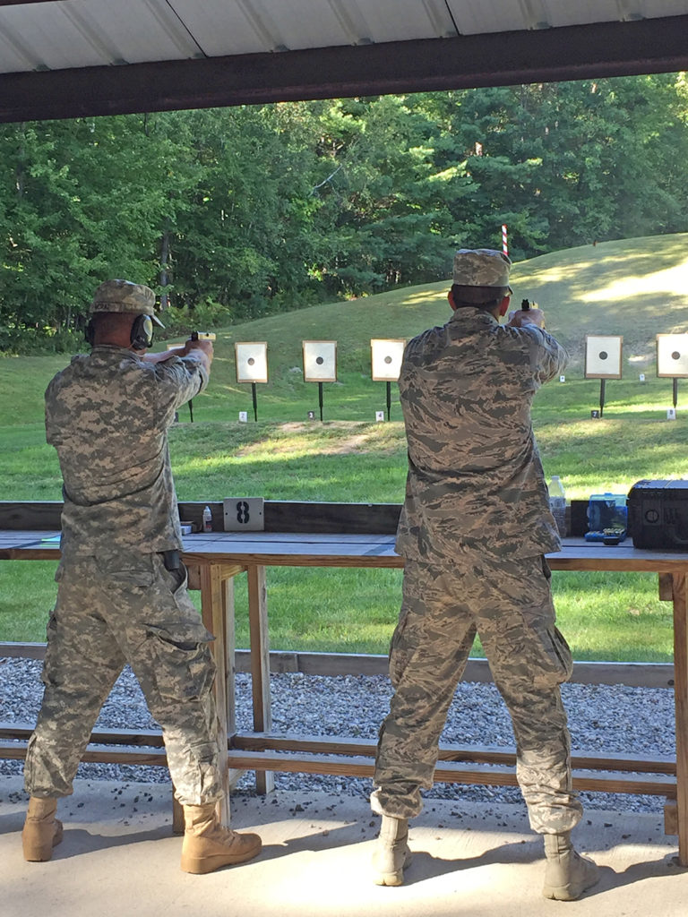 Pistol events fired in Vermont included the .22 Rimfire Pistol and Military & Police Service Pistol matches.
