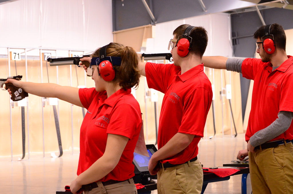 Along with rifle, the Camp Perry Open also welcomes pistol competitors as well.