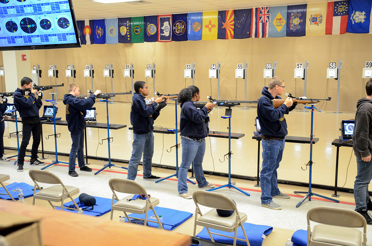 JROTC Matches - Civilian Marksmanship Program