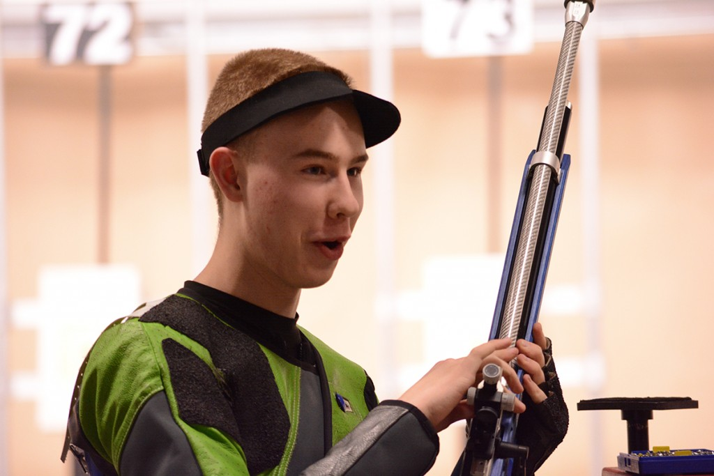 At the 2015 Camp Perry Open, Michael was in shock when he learned he had defeated two Army Marksmanship Unit members during the Rifle Open final – one after an exciting tie-breaking shoot-off.