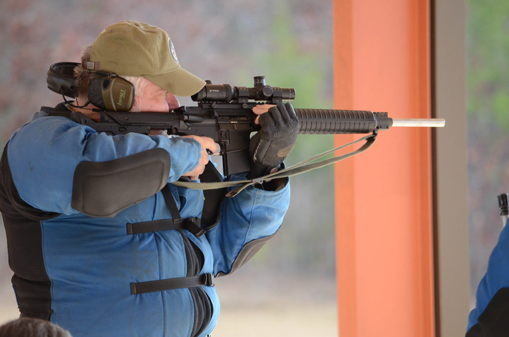 The matches at Talladega give Bill the chance to fire on CMP's electronic targets.