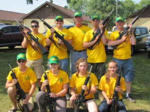 Left to right:  Back row: Dominic Thome, Robert Allison, Mike Darnell, Tyler Imel, John Reinboldt Front row: Ben Sawyer, Jessica Kelly, Anne Slota, Cammie Roberge