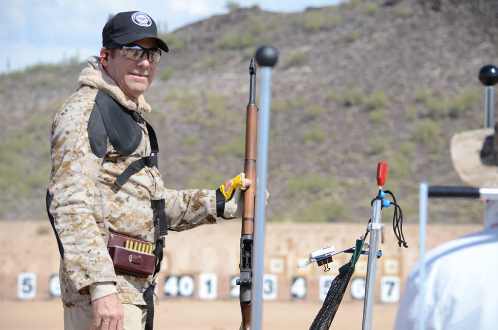 The Civilian Marksmanship Program's Western Games combines the fun of rifle competition with the unique challenge of firing beneath the blazing Arizona sun.