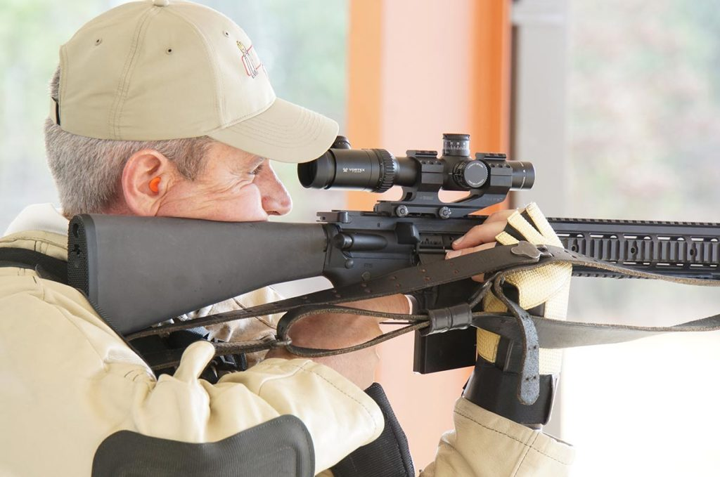 The most important 2016 CMP rule change is the legalization of 4.5X maximum optical sights for Service Rifle shooting. Service Rifle competitors can begin to use service rifles configured like this rifle in 2016.