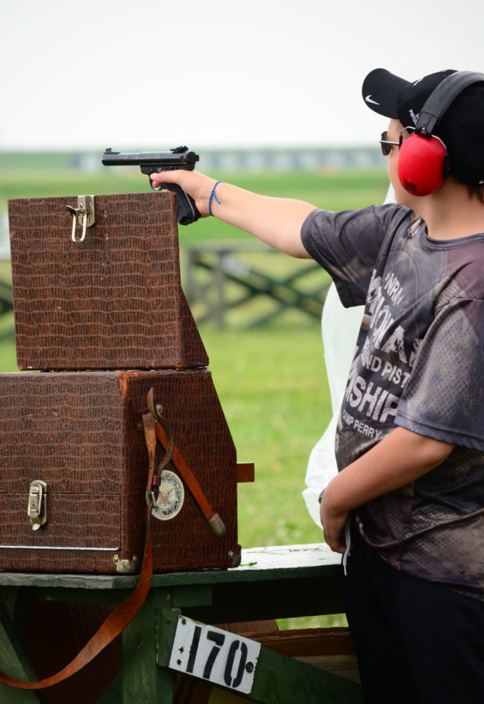 In 2015, the CMP will conduct 22 Rimfire Pistol EIC Match at the Oklahoma City Gun Club on 11 April, at Camp Butner, North Carolina on 3 May and at Camp Perry on 7 July.