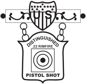 EIC .22 Rimfire Pistol Badge
