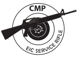 EIC Service Rifle Achievement Pin