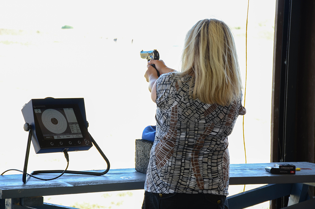 New Electronic Gun Range Open To Public At Camp Perry Civilian Hello I Am Electronics It Has Recently Become A Hobby Have Monitors Beside Each Shooter On The Firing Line Instantaneously Display Shot Scores In Matter