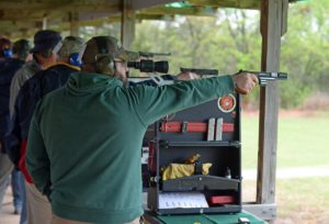 The 2015 CMP pistol rules changes created a new 22 Rimfire Pistol EIC Match.  The first ever EIC Match fired under these new rules took place during the CMP Oklahoma Travel Games on 11 April 2015.