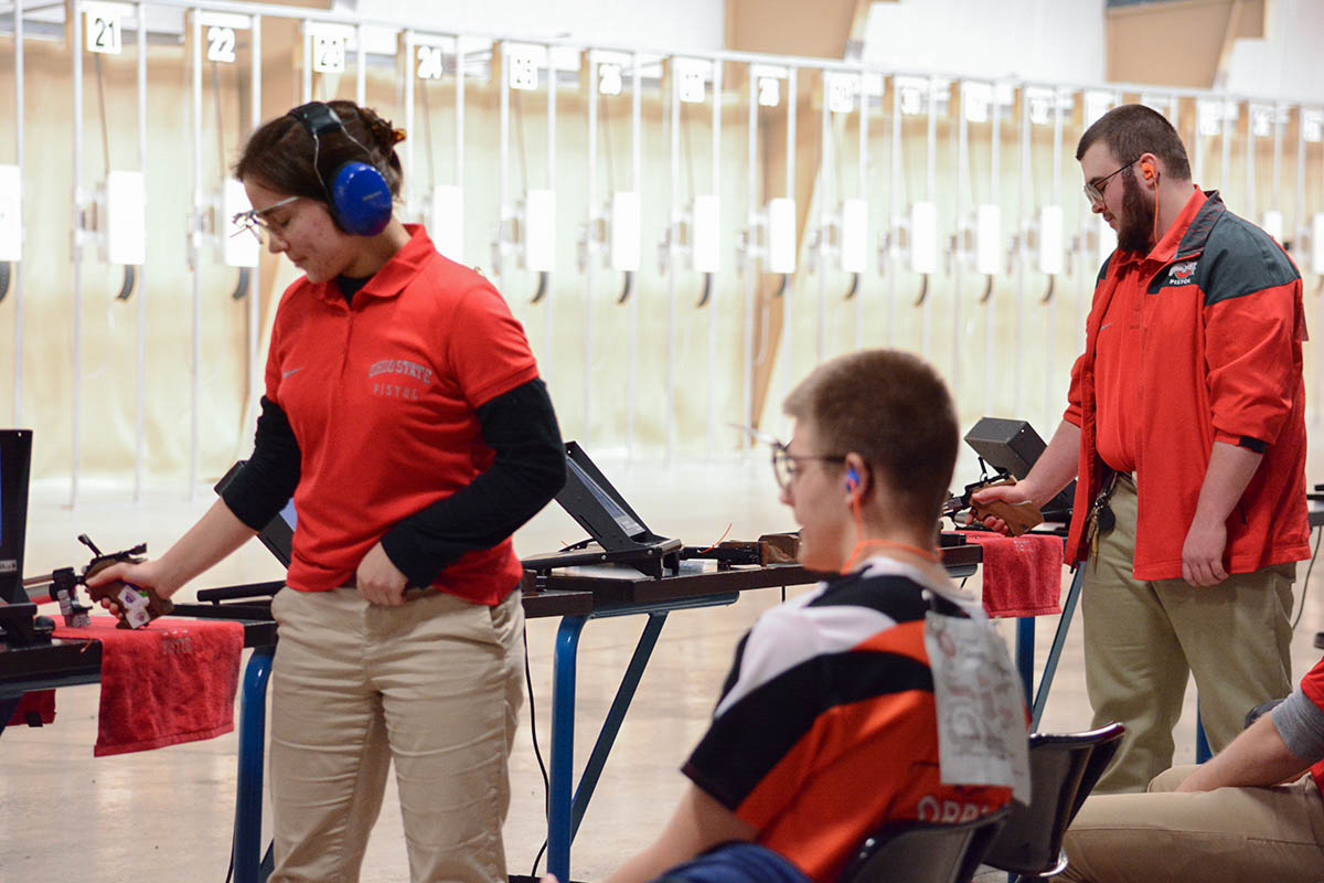 For Irina, the challenge pistol presents is what keeps her interested in the discipline.
