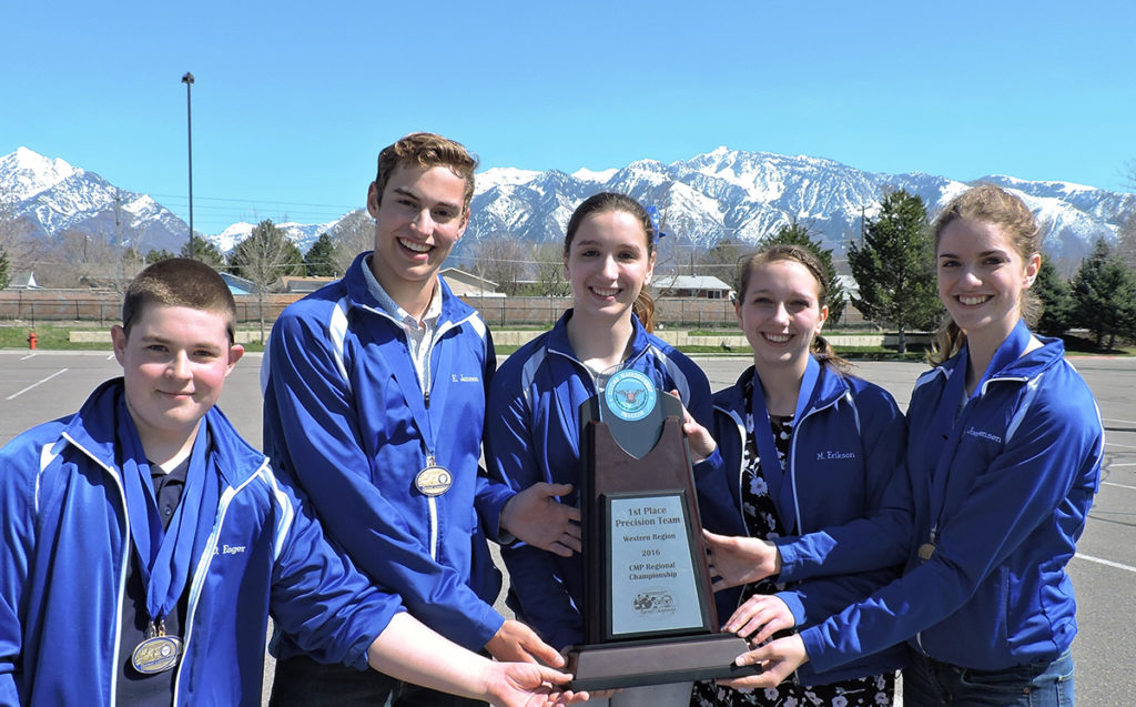 Walla Walla was the overall precision team at JROTC Regionals in Utah as well as across the board during the 2016 event. The team also carried two of the three high overall precision competitors: Sabrina Keenan in first and Daniel Enger in third.