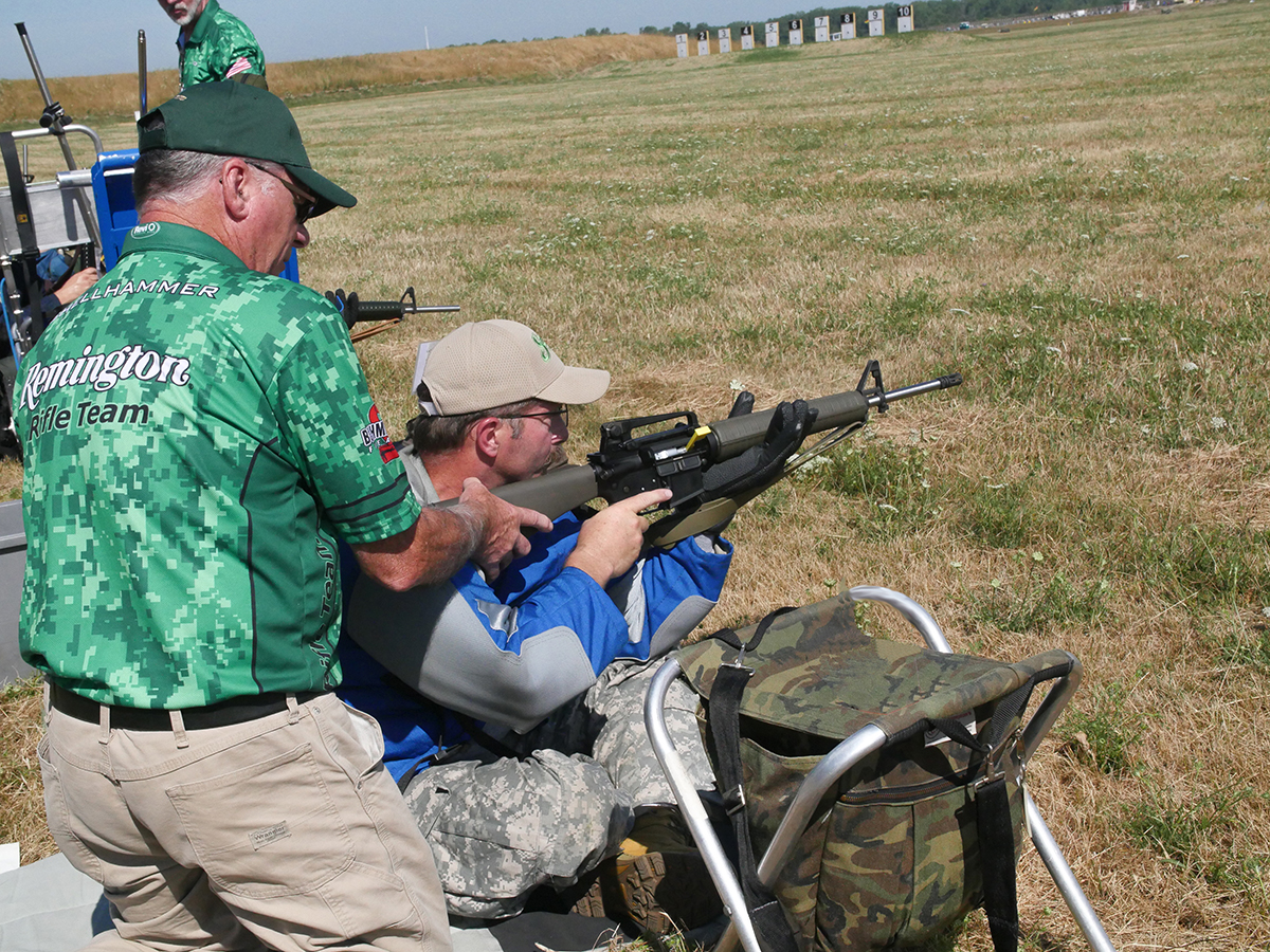 The CMP-Remington Advanced Highpower Clinic offers more specific and advanced rifle instruction and is led by the Remington-Bushmaster Team.