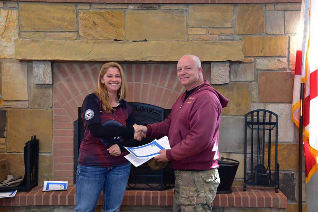 The 1,000 Aggregate Service Rifle winner was Jonathan O'Neal of Marietta, GA.