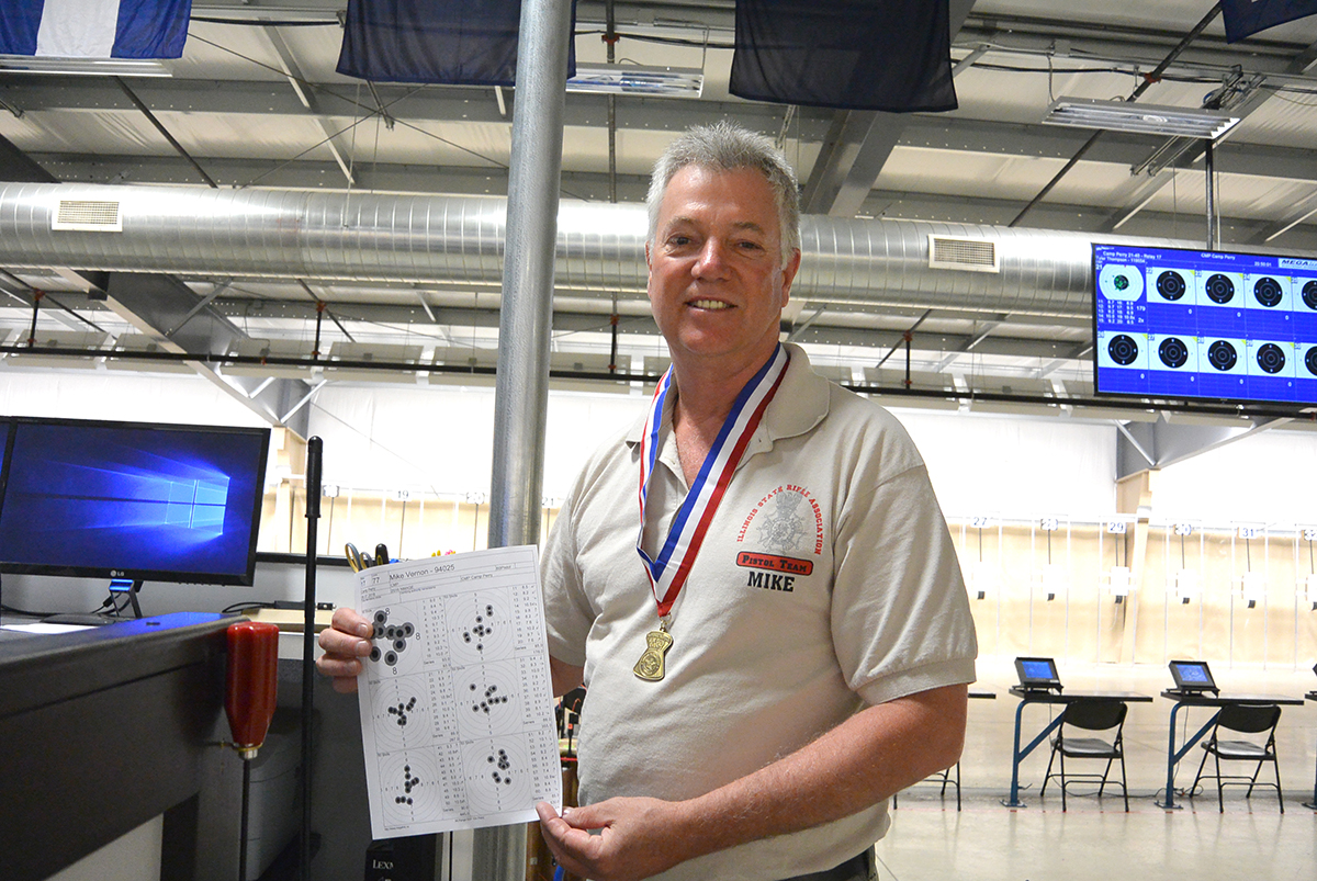 The Air Pistol events were held inside the Gary Anderson CMP Competition Center on Camp Perry, which houses state-of-the-art electronic targets that allow for instantaneous shot feedback and scoring.