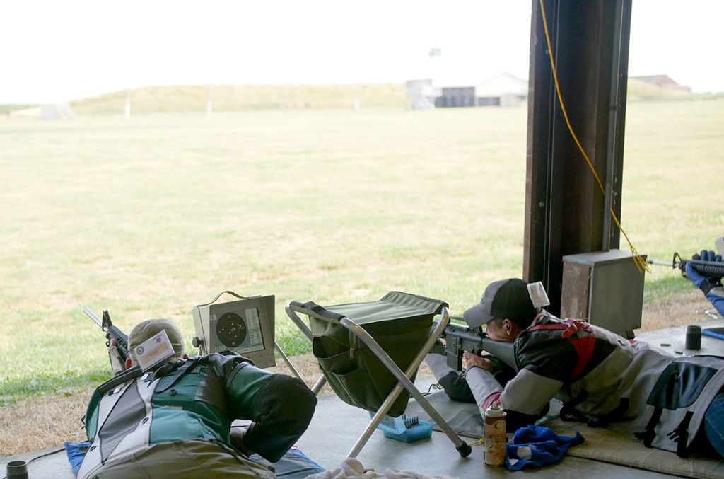 The Critchfield Team Match was fired on the CMP Targets at Petrarca Range. Ten electronic targets are available to the public for use on Mondays. Visit https://thecmp.org/competitions/cmp-targets-at-petrarca-range/ for more information.