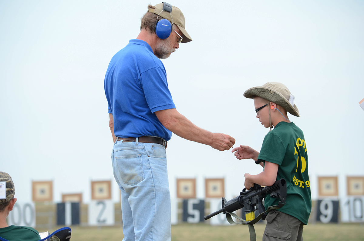 Thomas Doligale participated in his first SAFS with his Boy Scout Troop 109 from Louisville, Ky.