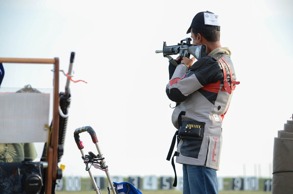 Nick Till of Howell, MI, won the Heritage Match along with helping his partner, James Root, win the Critchfield Team event.