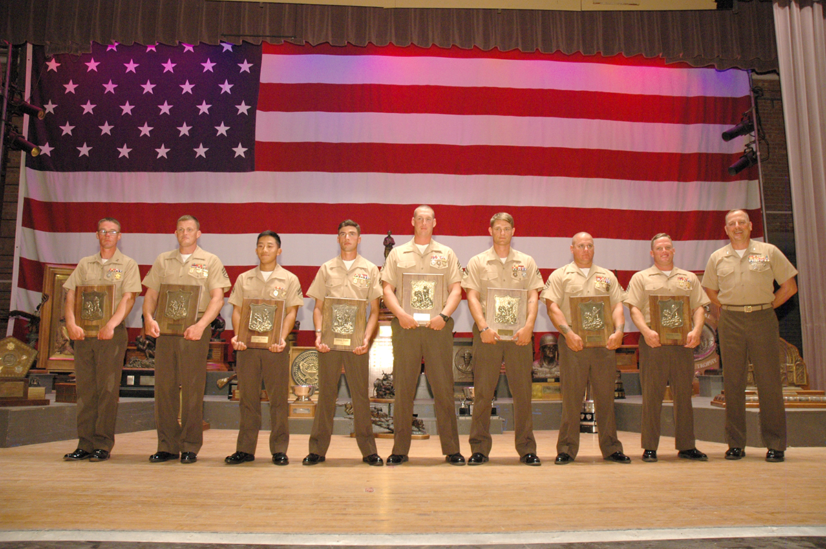 The overall team of the NTIT was USMC Altendorf, which won by more than 60 points.