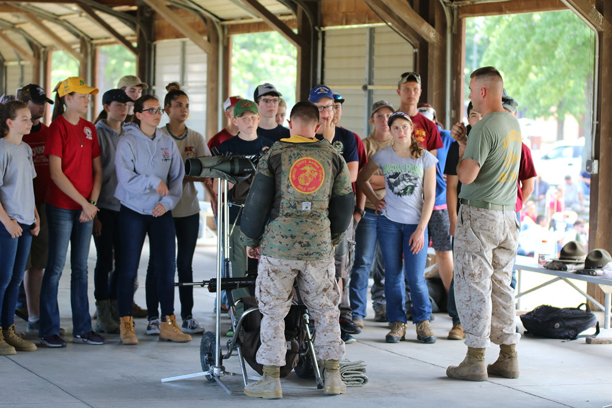 The CMP-USMC Junior Highpower Clinic combines real Marine Corps Rifle Team classroom instruction with live fire range practice.