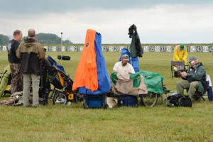 Over 1,000 competitors arrived in the wet conditions on July 19 to fire in the always-popular John C. Garand Match.