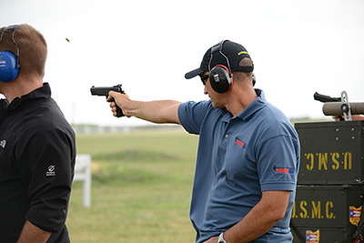 Over 480 competitors fired in this year's President's Pistol Match - one of the most prestigious events during the National Pistol Matches.